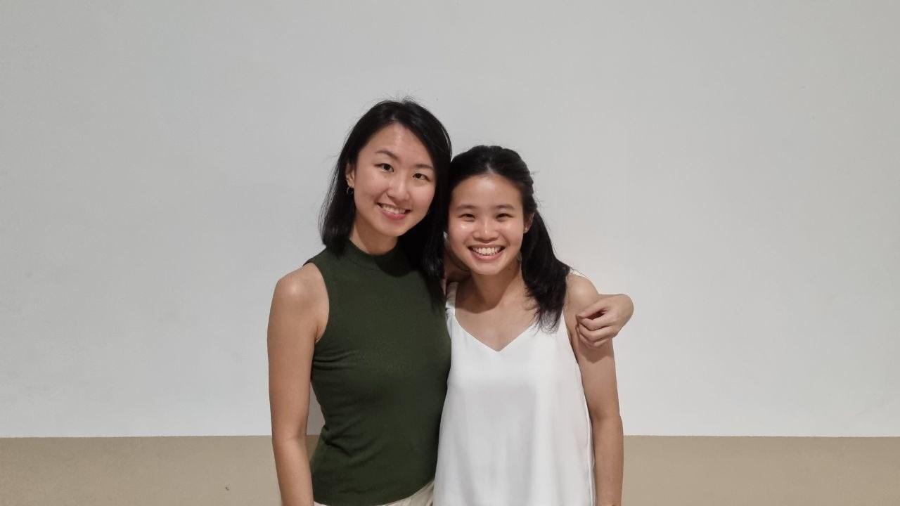 Yan Hong and Tricia